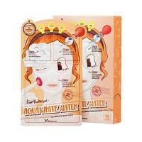 Elizavecca Aqua White Water Illuminate Mask Трехступенчатая осветляющая и увлажняющая маска