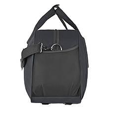 Дорожня сумка TONGSHENG полиэстер на ПВХ основе 54х34х20 чёрная  кс99929ч, фото 2