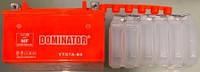 Аккамулятор  YTX7А-BC 12V/7Ah  DOMINATOR заливной оранжевый 95x87x150