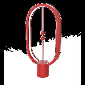 Настільна лампа світильник Heng Balance Lamp Ellipse Red червона