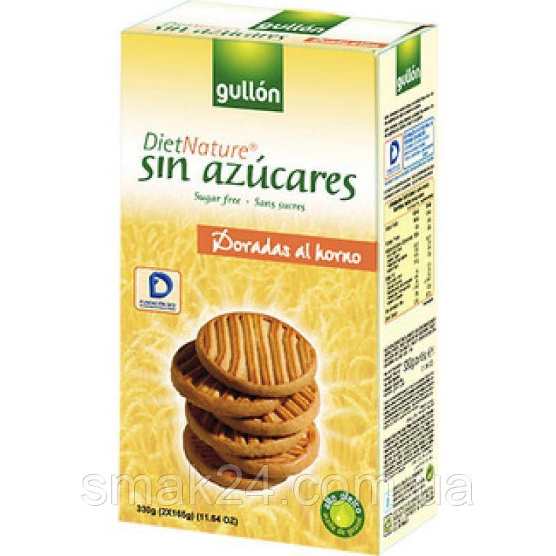 Печенье без сахара золотой крекер Gullon  Испания 330г