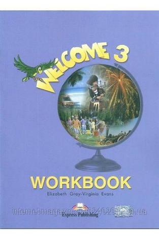 WELCOME 3 WORKBOOK ISBN: 9781843253068, фото 2