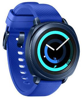 Смарт-часы Samsung Gear Sport Blue SM-R600 Blue (SM-R600NZBA)
