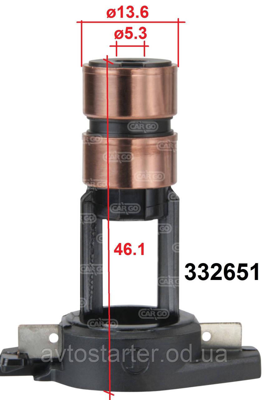Коллекторные контактные кольца якоря генератора FIAT Ducato IVECO Daily 2.3 JTD LADA VAZ 1117-1119 Kalina 2170