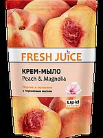"Крем-мыло Fresh Juice ""Peach & Magnolia"" дой-пак (460мл.)"