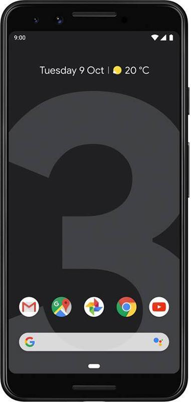 Смартфон Google Pixel 3 4/64GB Just Black