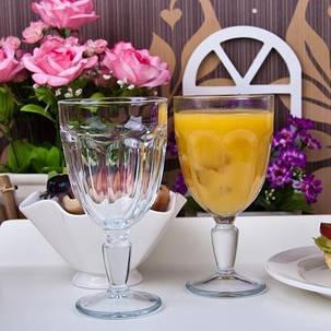 Набор бокалов-гоблет стеклянный Pasabahce Касабланка 235 мл (51258), фото 2