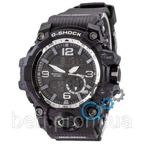 Часы наручные | Годинник наручний Casio G-Shock GG-1000 Black-White (Черный)