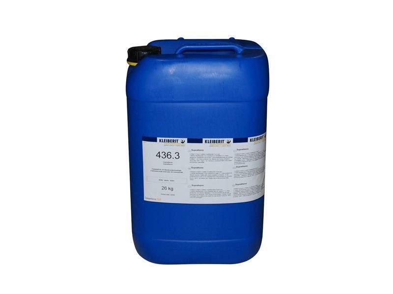 Клей Kleiberit Супратерм 436.3 клей для ПВХ-пленок (ведро 26 кг), белый, для мембранно-вакуумного прессования