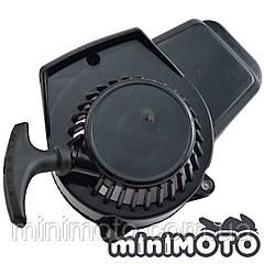 Крышка заводная, ручной стартер (тип #1) для минимото, детского мотоцикла и квадроцикла (шморгалка) пластик