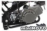 Крышка заводная, ручной стартер (тип #2) минимото, детский мотоцикл и квадроцикл, mini ATV (пластик), фото 4