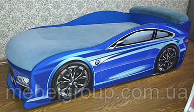 Ліжко машина БМВ синя