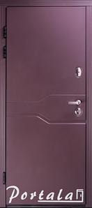 """Входная металлическая дверь """"Портала"""" для квартиры (серия Комфорт) ― модель Лозана"""
