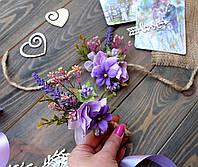Свадебный браслет и бутоньерка , фото 1