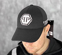 Бейсболка Philipp Plein D1566 черная