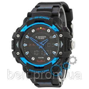 Часы наручные | Годинник наручний Casio G-Shock Red Bull Black-Blue (Черно-Синий)