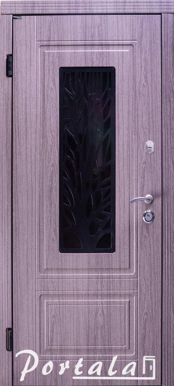 """Входная дверь для улицы """"Портала"""" (Стандарт со стеклопакетом) ― модель S-3"""