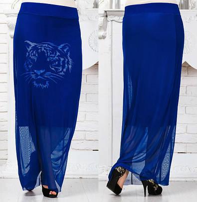 Женская юбка №76-170 БАТАЛ