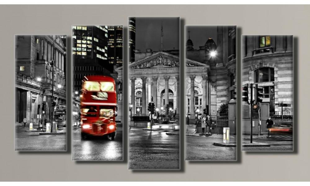 Модульная картина London 71х128 см (HAB-019)