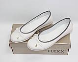 Женские балетки Flexx оригинал натуральная кожа 37, фото 3