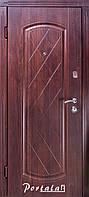 """Входная дверь для улицы """"Портала"""" (Люкс Vinorit) ― модель Шампань, фото 1"""