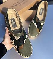 Эспадрильи мужские Valentino D6897 камуфляжные