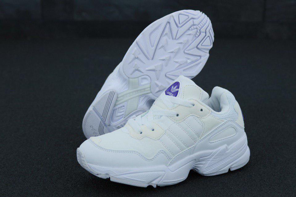 Кроссовки мужские Adidas Yung-96 31254 белые