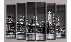 Модульная картина New York City-13 100х150 см (HAV-004)