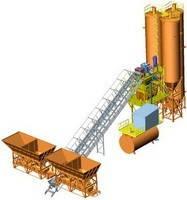 Бетоносмесительная установка СБ-248