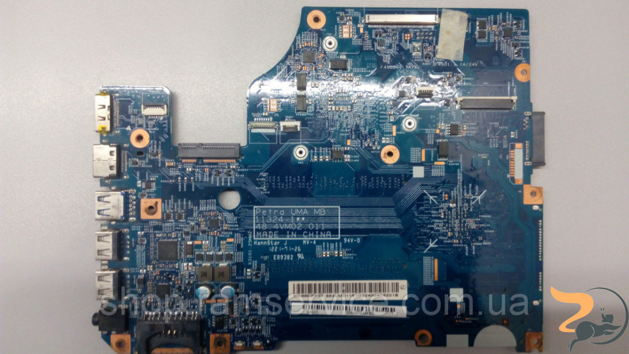 Материнська плата Acer Aspire V5-571, V5-531, 11324-1, 48.4vm02.011, Процессор INTEL Celeron 877, SR0FD, б/в
