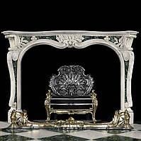 Античный мраморный портал в стиле рококо