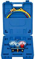 Манометр двухвентильный Value VMG-2 R410 A-B шланги 150 см (R410. 407. 22. 134) чемодан