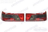 Фонарь 2110, 2111, 2112 задний затонированный (красно-черный) (полный к-кт на машину 4 шт) АВТОГРАНД