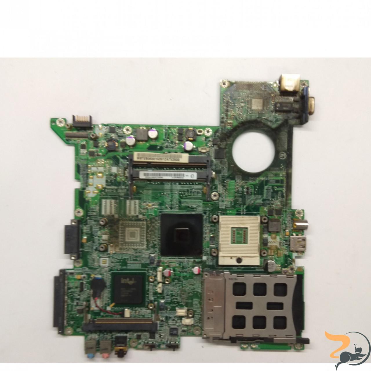 Материнська плата для ноутбука Acer TravelMate 2480, ZR1, DA0ZR1MB6D1. Тестована, робоча, слідів залиття не має, зламане USB(фото).