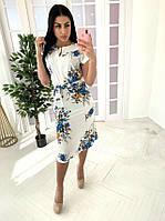 Платье с пышной юбкой и сеткой сверху 41PL2728, фото 1