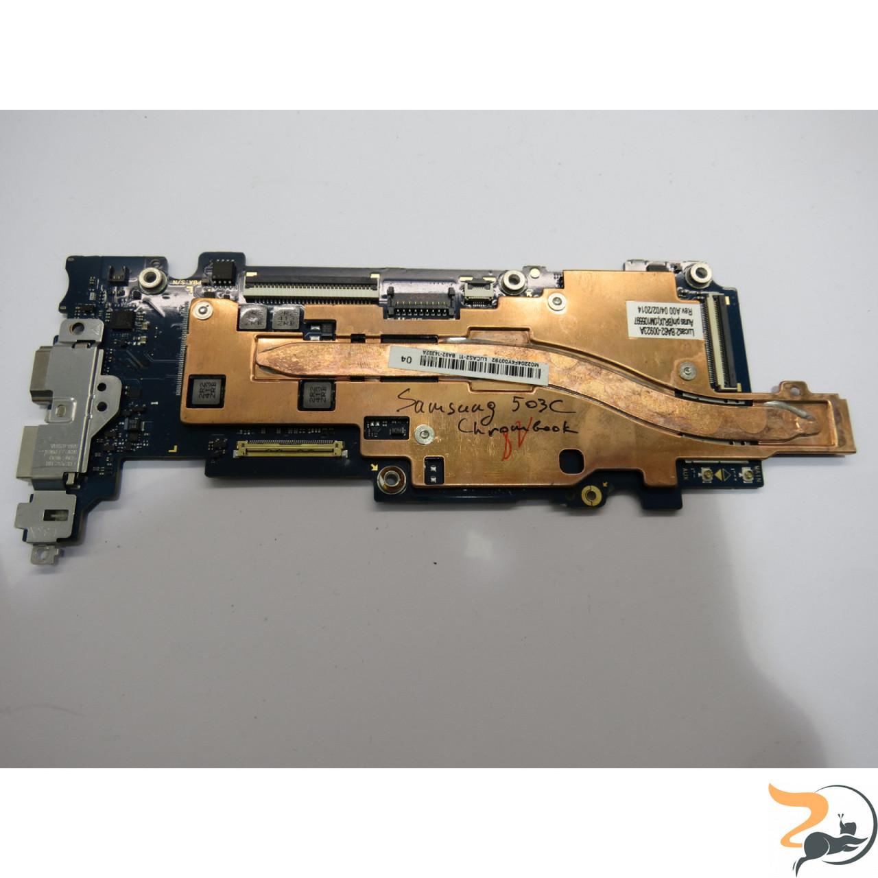 Материнська плата для ноутбука Samsung Chrombook 503C, LUCAS2-11R, Rev: 1.0, б\в. Має впаяний процесор SAMSUNG
