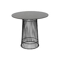 Стол обеденный стеклянный AT-036Q чёрный