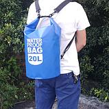 Рюкзак водонепроницаемый черный 20 л., фото 2
