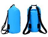 Рюкзак водонепроницаемый черный 20 л., фото 3