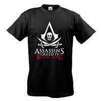 Футболка с лого Assassin's Creed IV Black Flag