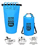 Рюкзак водонепроницаемый черный 20 л., фото 4