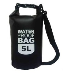Рюкзак водонепроницаемый черный 20 л.