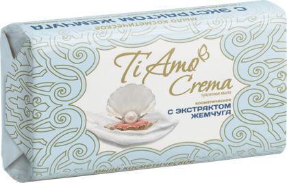 Косметичне мило тверде Ti Amo Crema c екстрактом перлів (140г.)