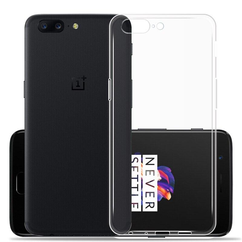 Чехол для OnePlus 5 Clear White