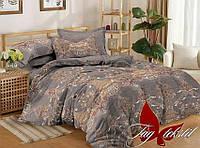 Комплект постельного белья сатин полуторный TAG S298