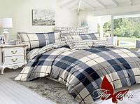 Комплект постельного белья сатин полуторный TAG S276