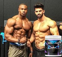 Средство для наращивания мышечной массы Muscleman , Средство для наращивания мышечной массы , Средство для наращивания мышечной массы Мусклеман,