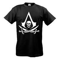 Футболка с лого Assassin's Creed 4