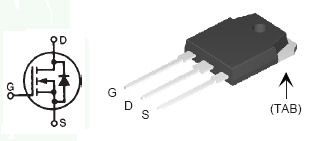 Транзистор IXTQ88N30P
