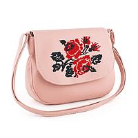 2f5f4a0e6e7a Женская сумка Габриела с вышивкой Розовый (Sgab_430_fly_c/1). В наличии